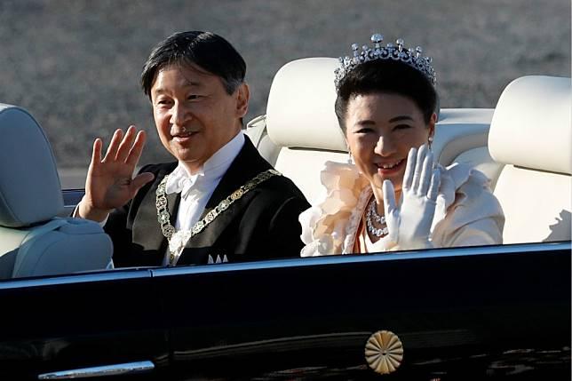 從東京皇居至赤坂御所 日本德仁天皇與雅子皇后「即位遊行」登場
