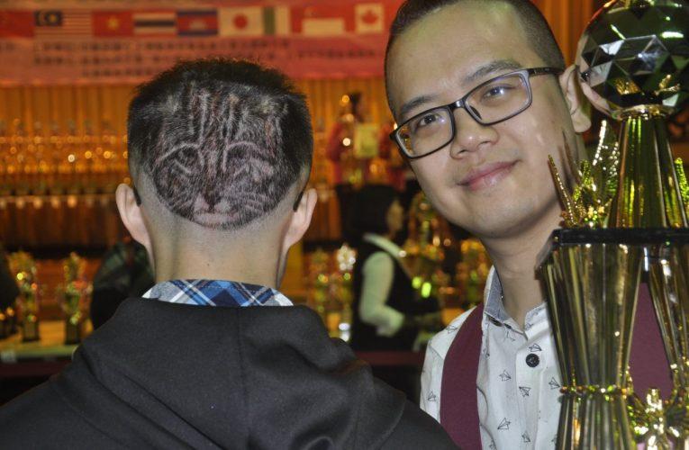 台灣世界盃髮型美容賽 藝術髮雕「石虎」成亮點